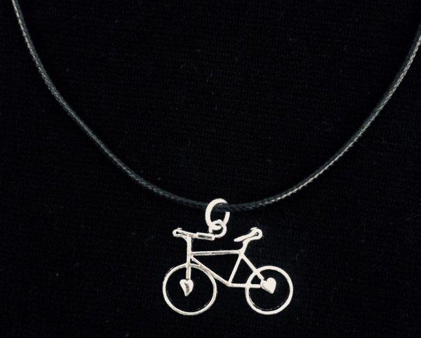 Zwarte fietsketting