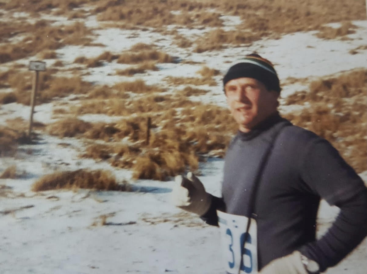 Halve marathon van Egmond, mijn vader